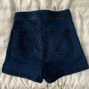 American Apparel High Rise Shorts